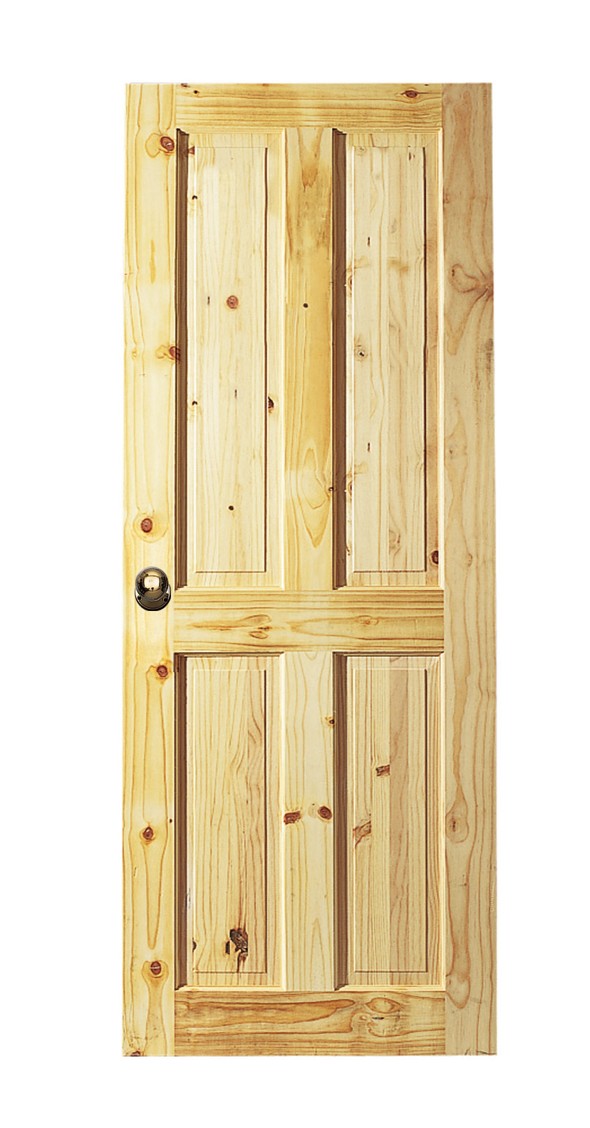 4%20Panel%20Knotty%20Pine Six Panel Pine Interior Doors